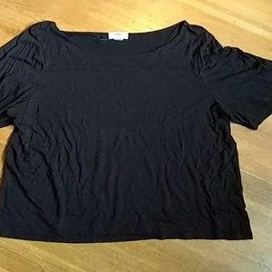 Black Old Navy short sleeved top